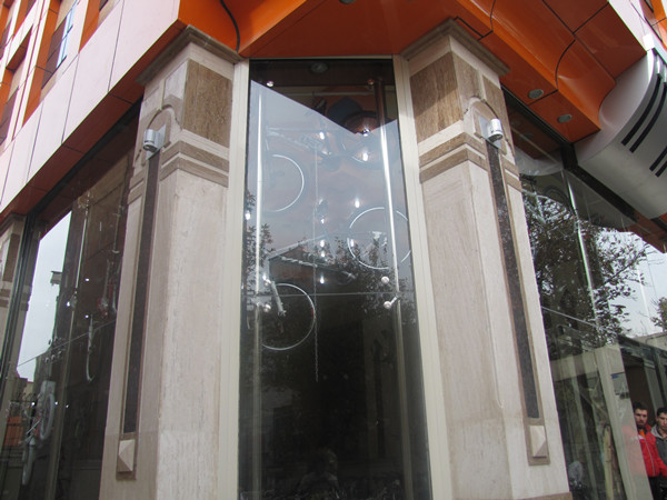 spider fittings Iran project - MOAZEN STORE