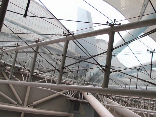 large scale steel truss structure