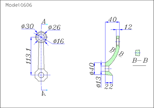 bracket spider fittings drawing