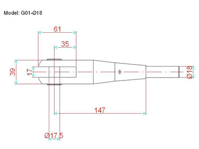 canopy tension rod drawing