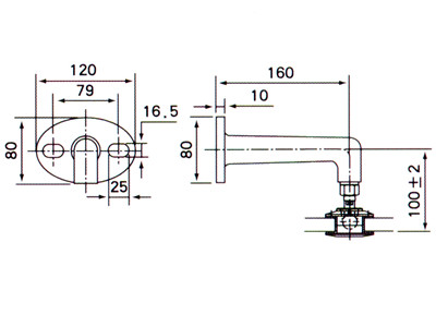 Overspeed Governor Ox187 further Bell housing in addition Glass Canopy Fittings in addition 2577603 likewise 2577552. on cable clamp drawing