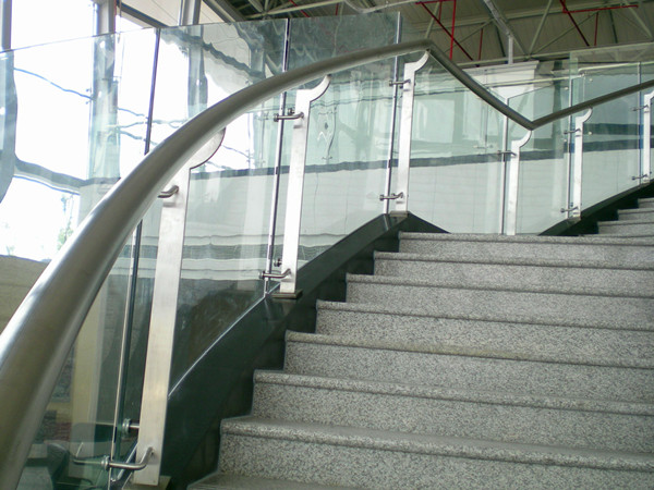 handrail bracket for glass stair case