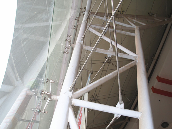 tension rod supporting system