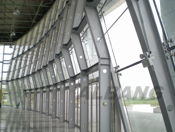 Steel Structure Glass Wall
