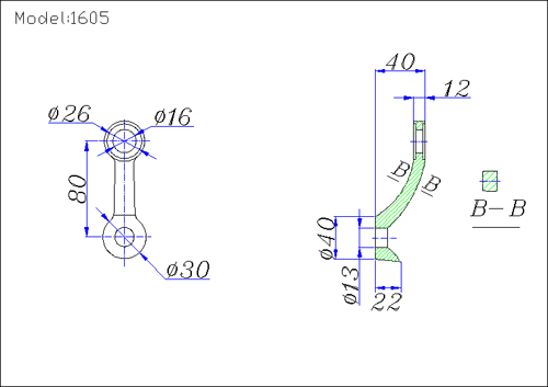 spider fittings glass drawing