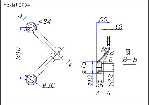 curtain wall spider fittings drawing
