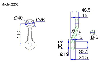 albang industries spider fittings drawing