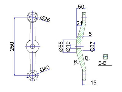 spider fitting system drawing
