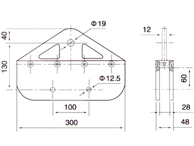 spider clamp system drawing