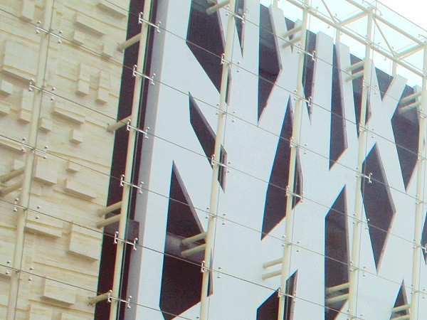 3060 spider fitting glass facade
